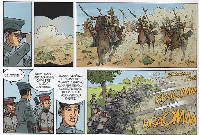 """Extraits de la BD """"Charles de Gaulle"""" de Jean-Yves Le Naour et Claude Plumail"""