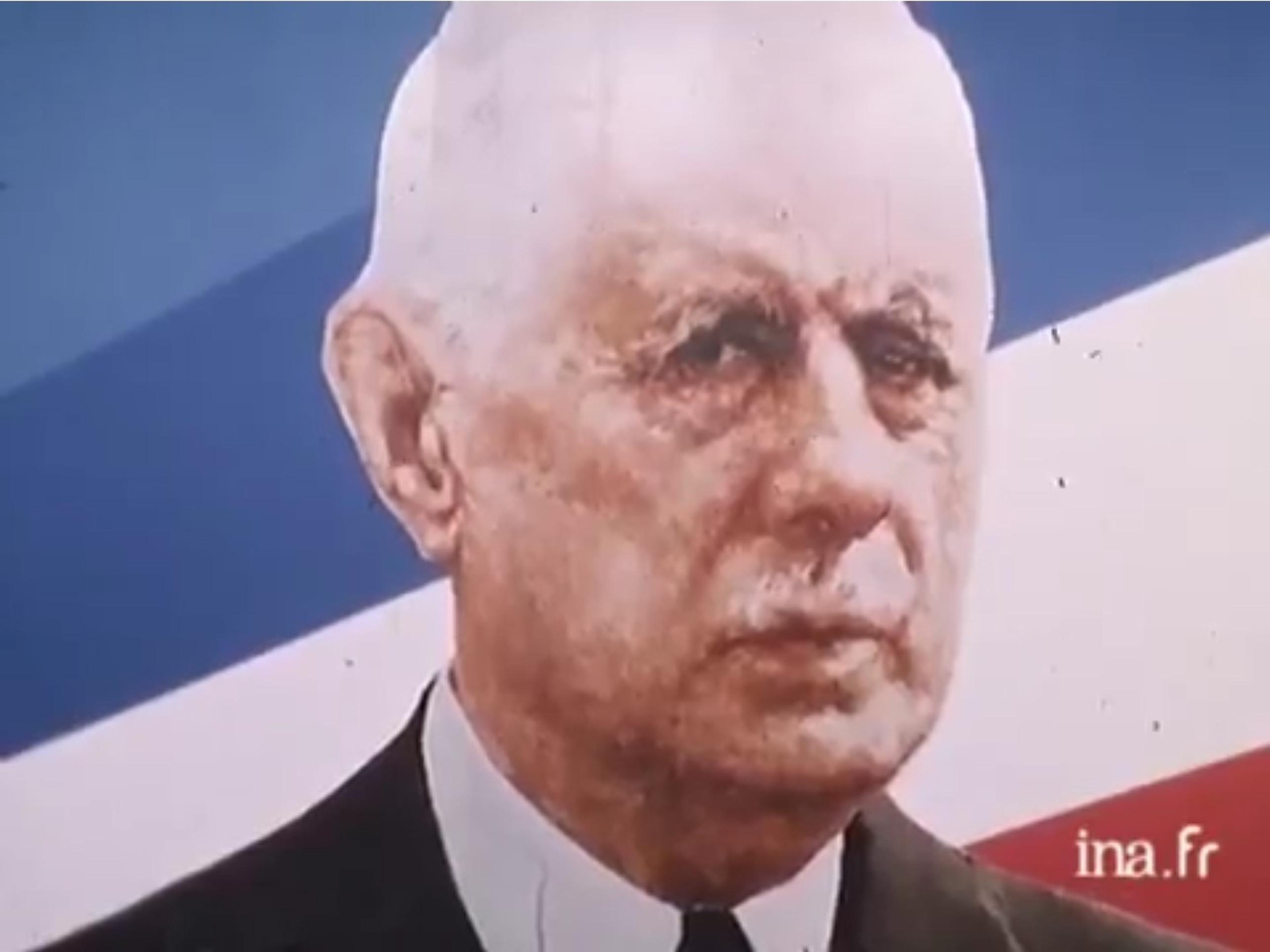 Capture d'écran du reportage vidéo sur le congrès de Fondation du RPR